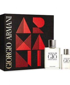 Gift Set Giorgio Armani Acqua Di Gio For Men 2pcs