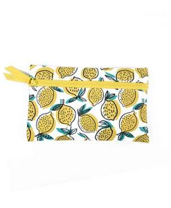 Makeup Bag Tui Dung My Pham Lemon Clutch Ipsy